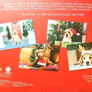 Festive Dog Jigsaw Collection